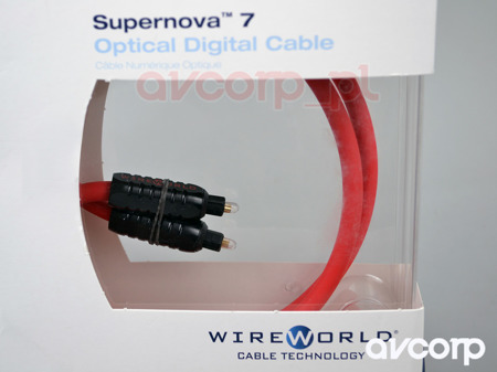 Wireworld Supernova 7 Glass Toslink Optical (STO) - toslink