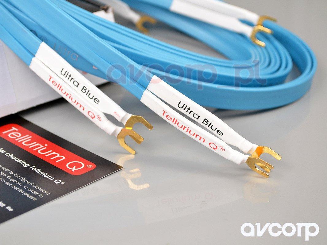 Tellurium Q Ultra Blue Speaker Cable - single wire - spades ...