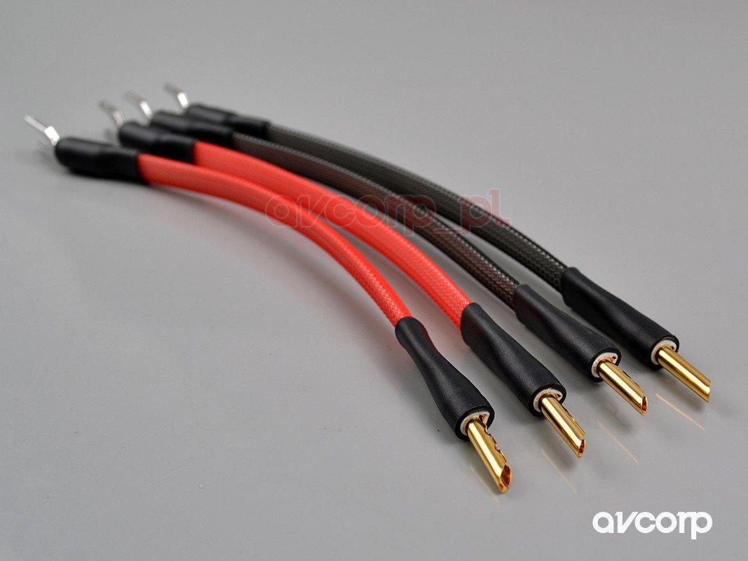 Albedo Jumper Bi Wire Monocrystal Cables Speaker Cables