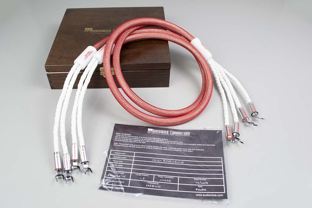 Audiomica Celes Excellence - single-wire Silver-plated