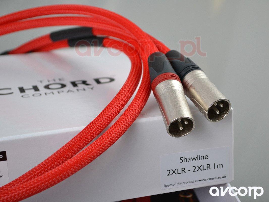 Chord Shawline- XLR XLR | Analogue Interconnects \ XLR to XLR Our ...