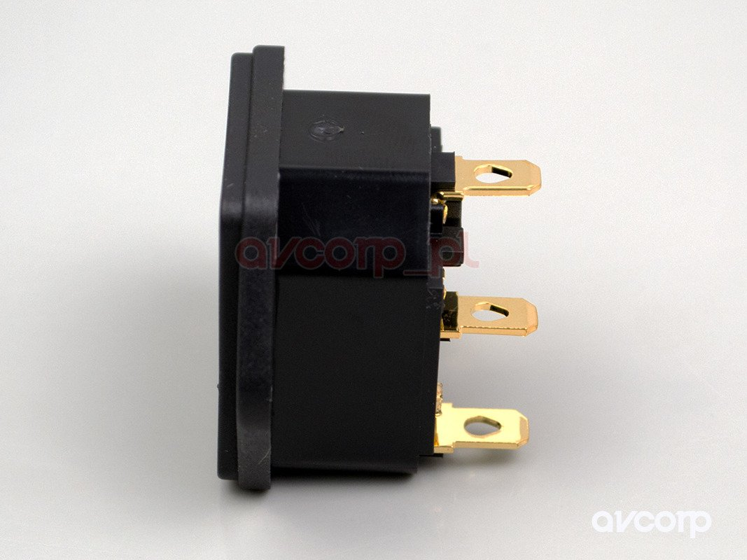 Furutech FI-03 (G) - power IEC Input with fuse gold plate
