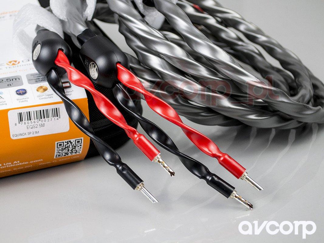 Wireworld Equinox 7 (EQS) single-wire-(BAN-BAN) Silver Uni-Term ...