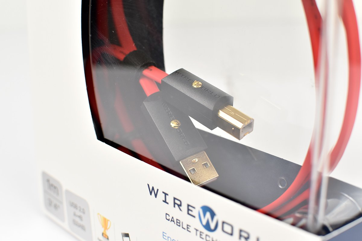 WIREWORLD Starlight 8 USB 2.0 Audio Cables 0.6 Meter A to B