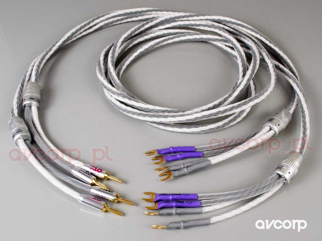 Xlo Htp12 Bw Bi Wire Bananas And Spades Cables