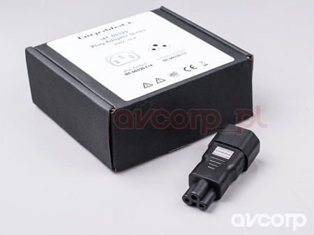 GigaWatt IEC320-C5 Power Plug Adapter