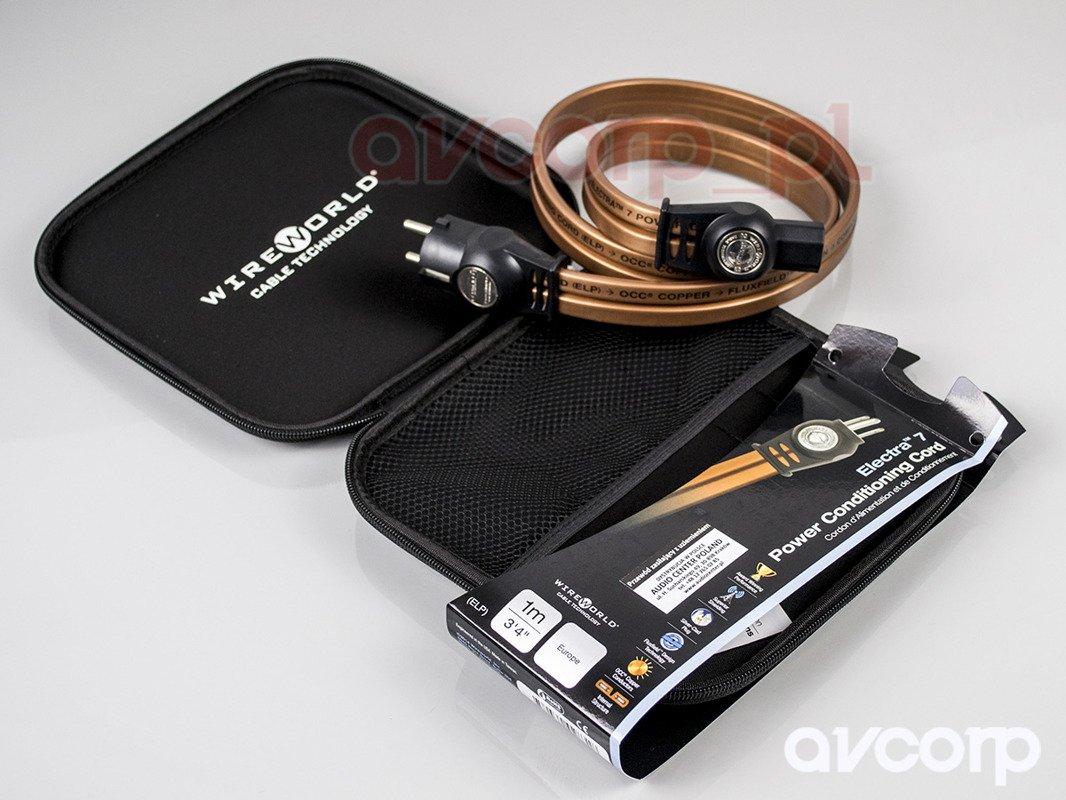 Wireworld Electra 7 Power Cord (ELP) | Kable zasilające \ IEC 320 ...