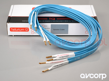 Tellurium Q Ultra Blue Speaker Cable - single wire - banany